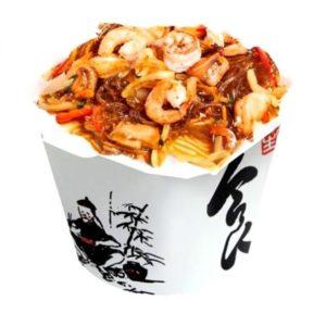 wok морепродукты